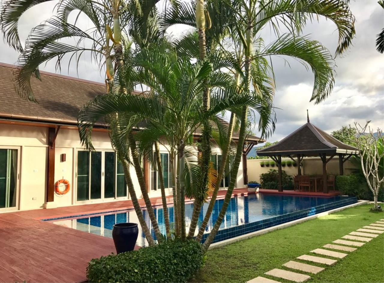 REAL Phuket  Agency's Oriental Villa Tara - 3-Bedroom Pool Villa in Layan 10