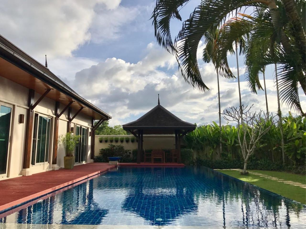 REAL Phuket  Agency's Oriental Villa Tara - 3-Bedroom Pool Villa in Layan 13