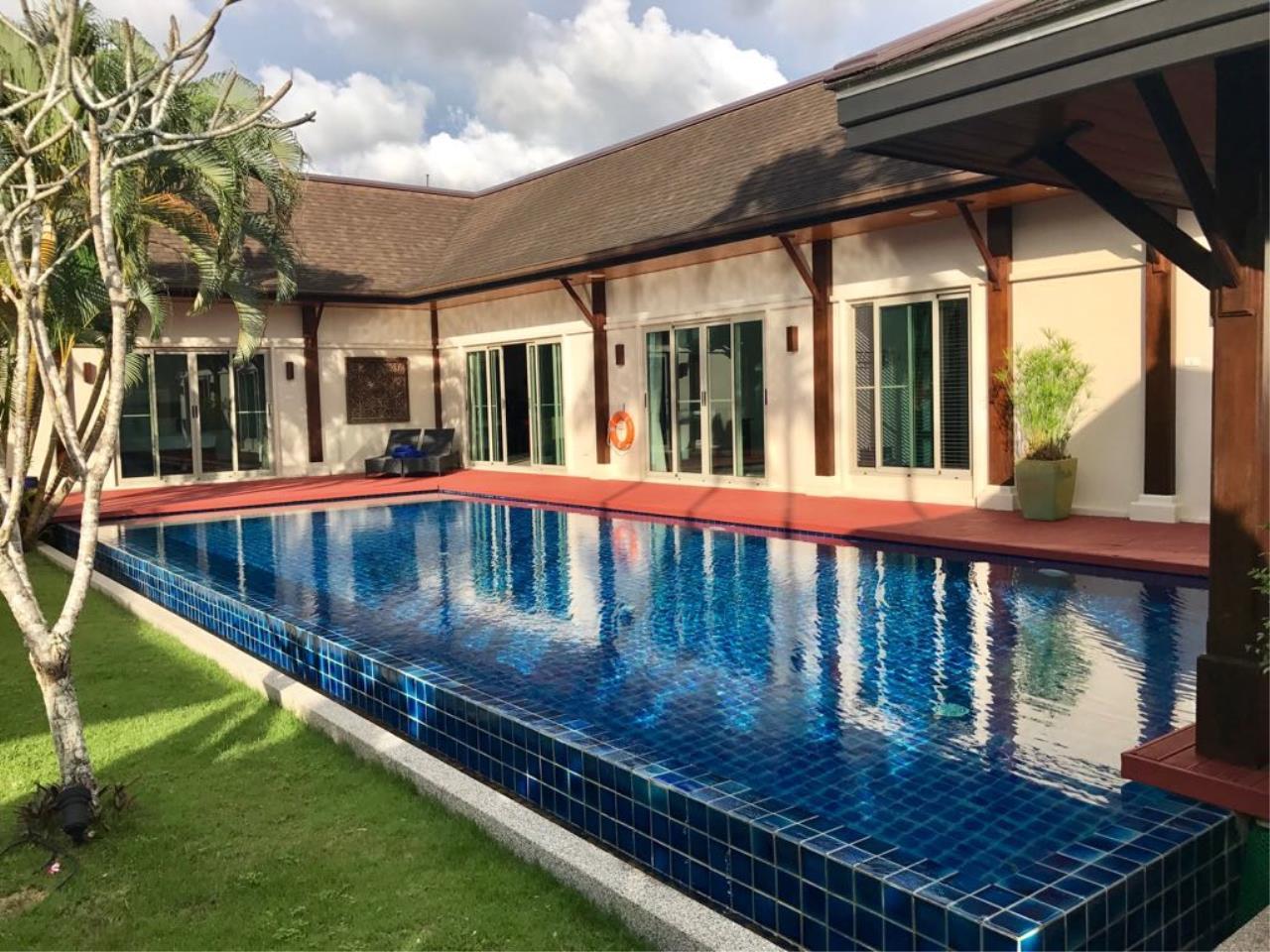 REAL Phuket  Agency's Oriental Villa Tara - 3-Bedroom Pool Villa in Layan 1