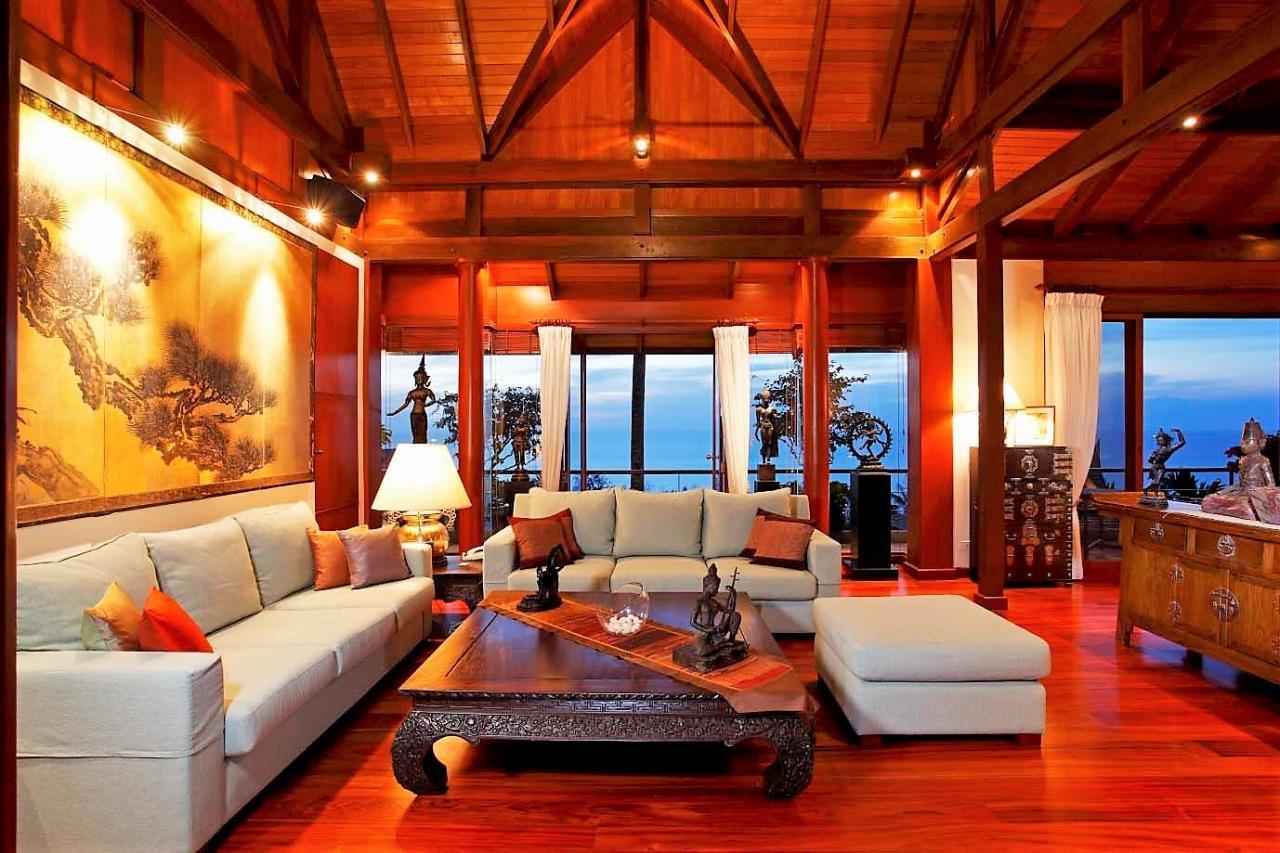 REAL Phuket  Agency's Ayara - Stunning 4-Bedroom Sea View Villa overlooking Surin Bay 5
