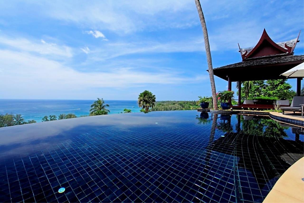 REAL Phuket  Agency's Ayara - Stunning 4-Bedroom Sea View Villa overlooking Surin Bay 1