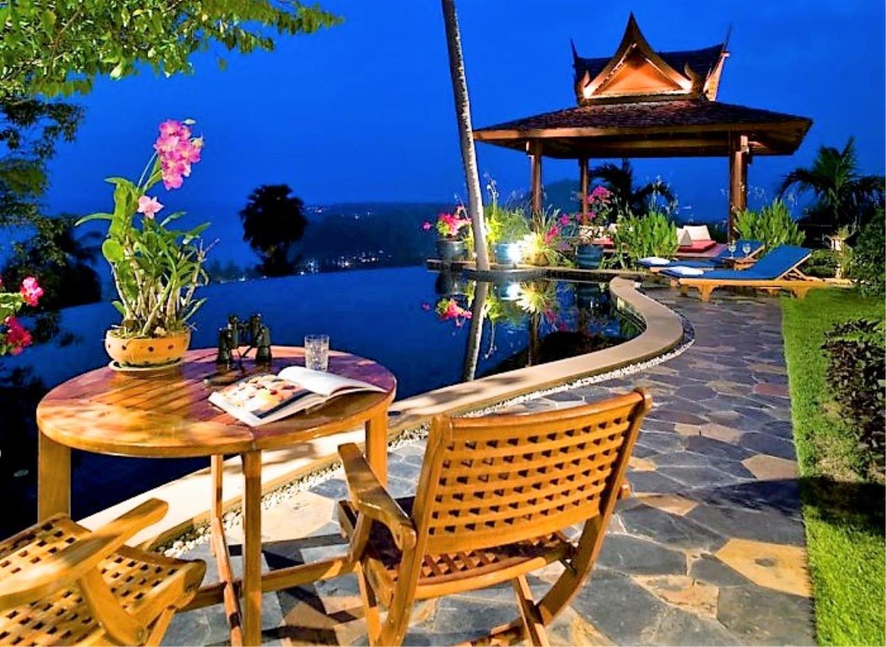 REAL Phuket  Agency's Ayara - Stunning 4-Bedroom Sea View Villa overlooking Surin Bay 25