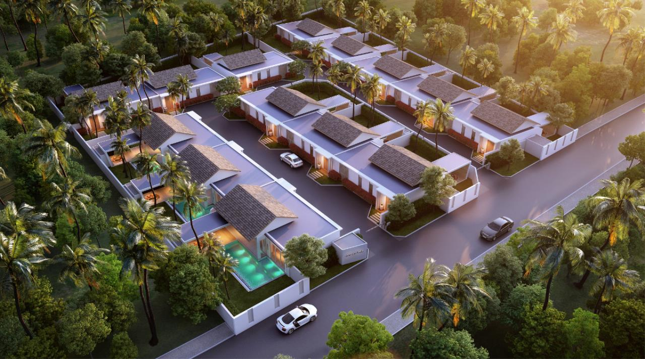 REAL Phuket  Agency's Cocoon Villas - New Development of 2 & 3-Bedroom Pool Villas in Naithon 2