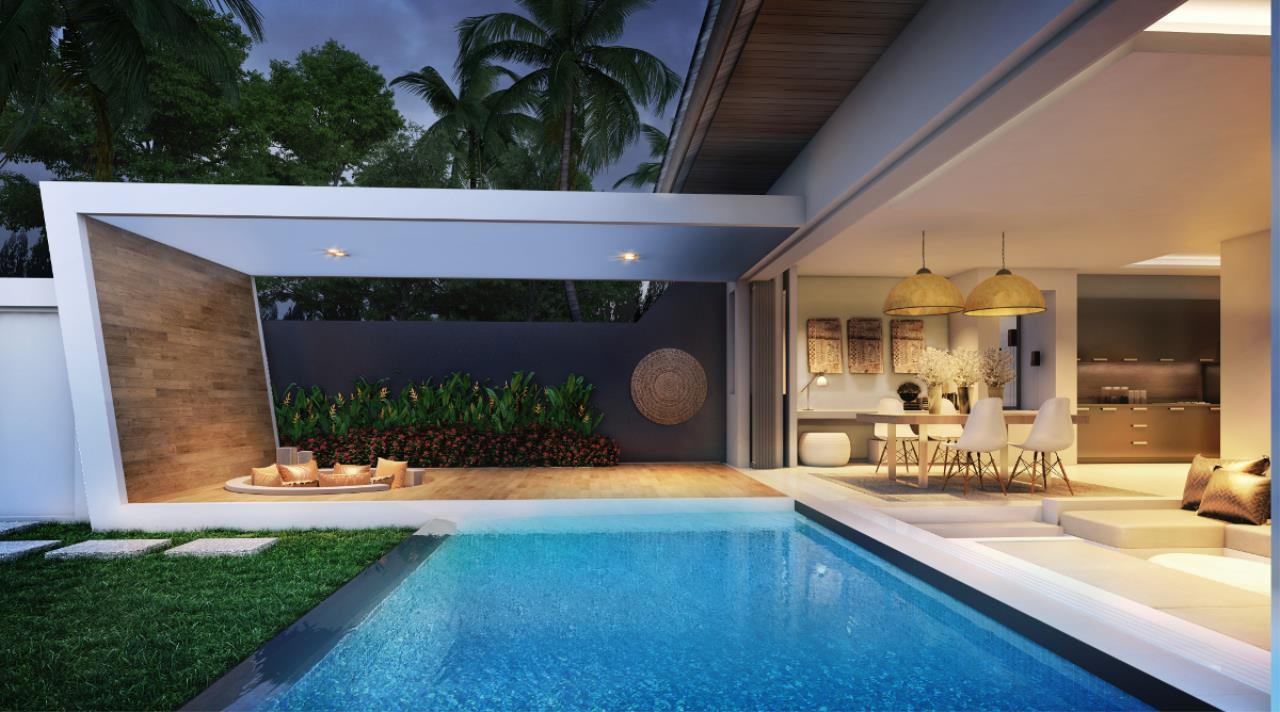 REAL Phuket  Agency's Cocoon Villas - New Development of 2 & 3-Bedroom Pool Villas in Naithon 3