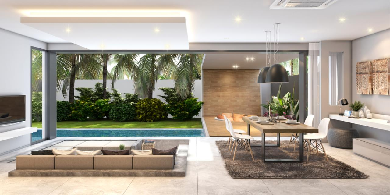 REAL Phuket  Agency's Cocoon Villas - New Development of 2 & 3-Bedroom Pool Villas in Naithon 4