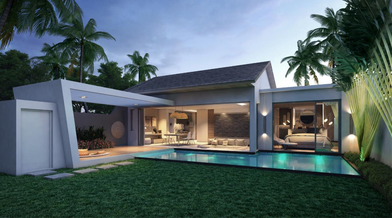 REAL Phuket  Agency's Cocoon Villas - New Development of 2 & 3-Bedroom Pool Villas in Naithon 1