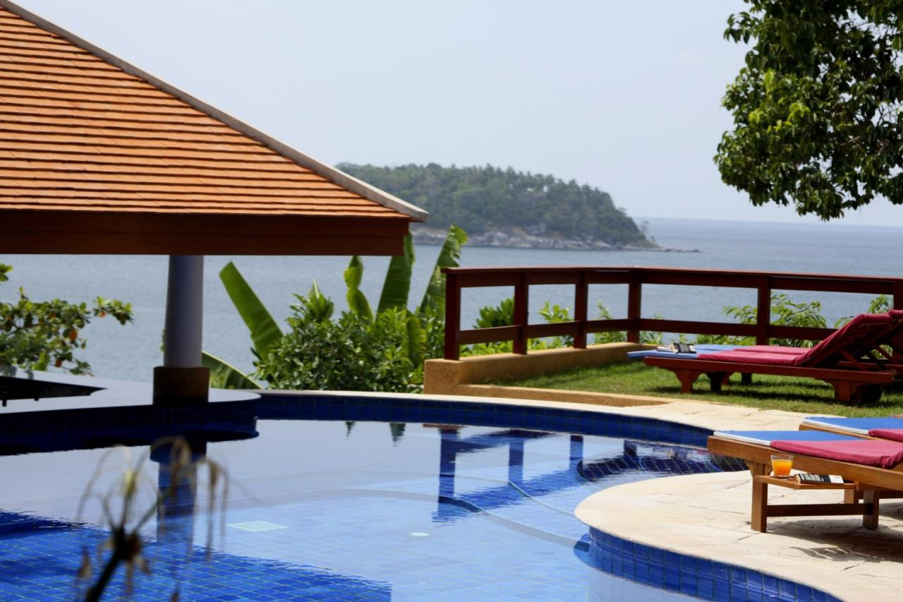 REAL Phuket  Agency's Baan Kata - Impressive 4-Bedroom Oceanfront Villa near Kata Beach 1