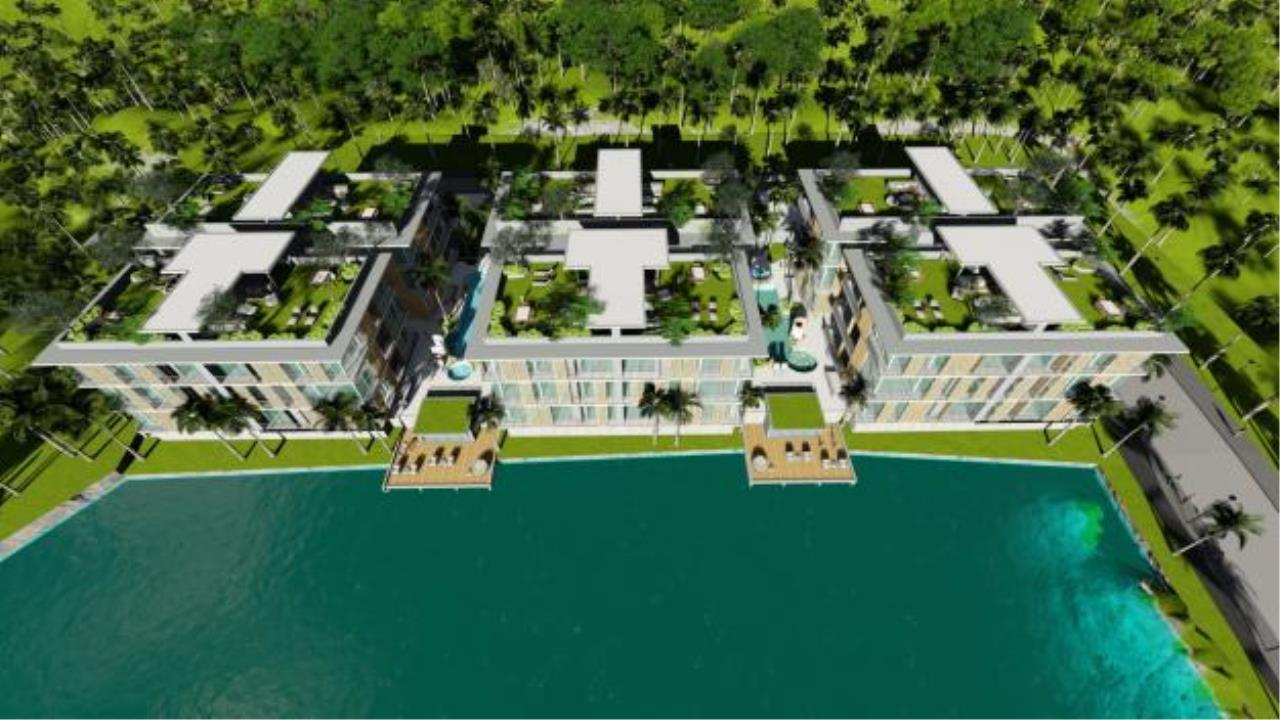 REAL Phuket  Agency's The Penthouse by Nai Harn Baan Bua - New Waterfront Residences 3