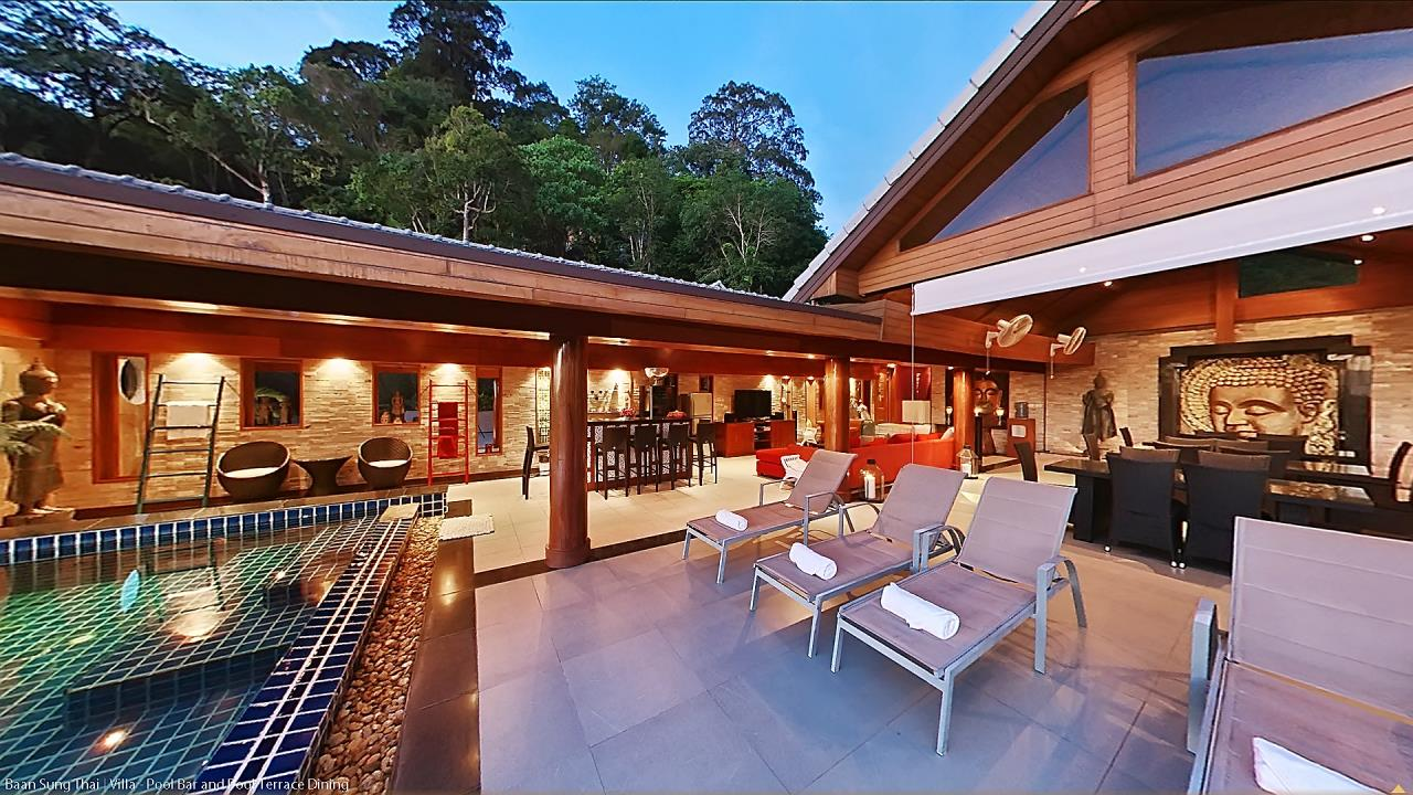 REAL Phuket  Agency's Baan Sung Thai - Incredible 17-Bedroom Luxury Villa in Kamala 9