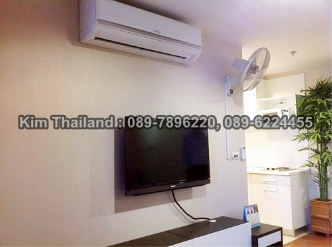 BKKcondorental Agency's For rent, Condo Belle Grand Rama 9.  Building C2, 1Xth floor, Area 48 sq.m.  2