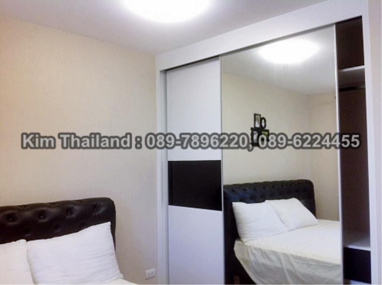 BKKcondorental Agency's For rent, Condo Belle Grand Rama 9.  Building C2, 1Xth floor, Area 48 sq.m.  3