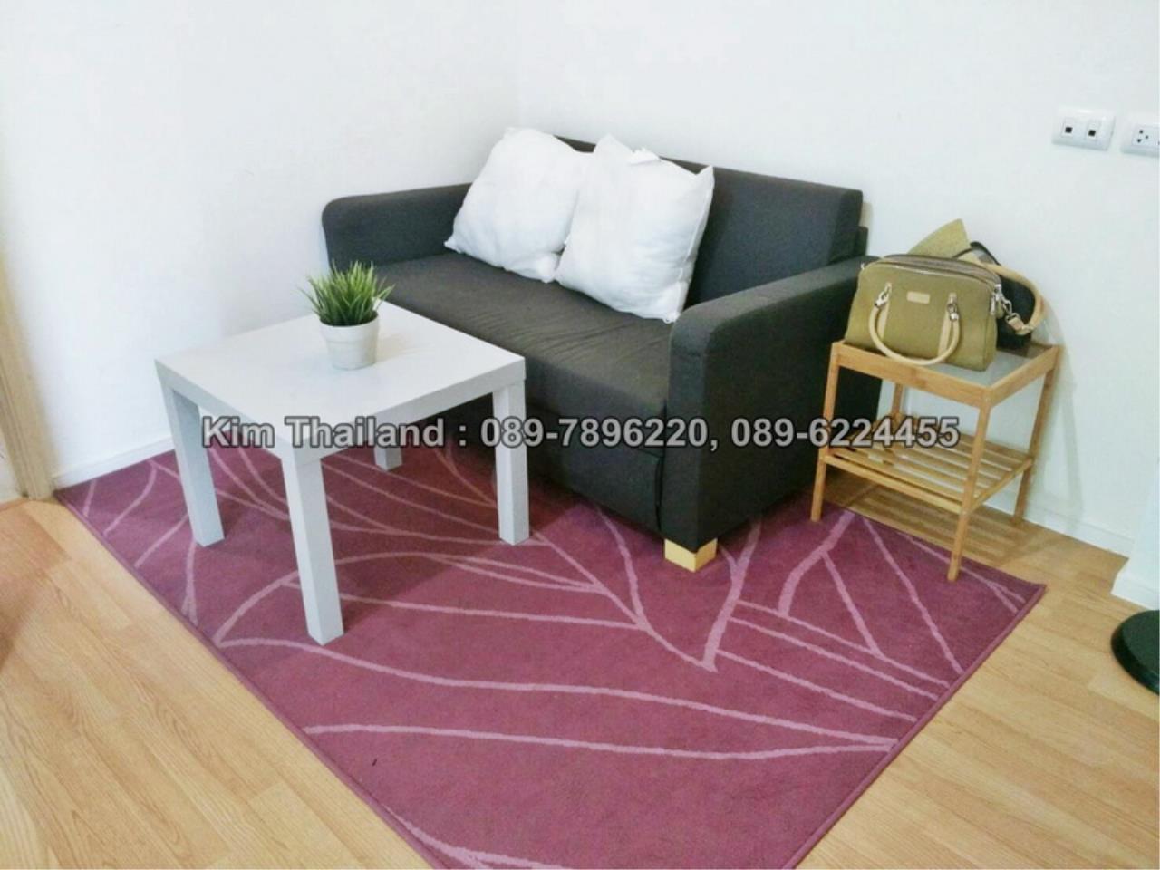 BKKcondorental Agency's For rent,Condo Lumpini Ville Prachachuen-Phongphet 2. Building B,  Area 26 sq.m.  1
