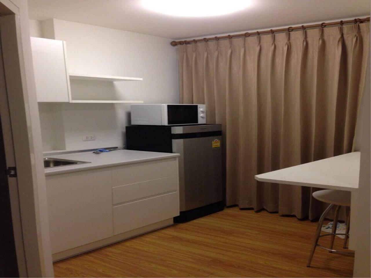 BKKcondorental Agency's Rent 1 bed 28 sq 10,000 B for the trust praram 3 4