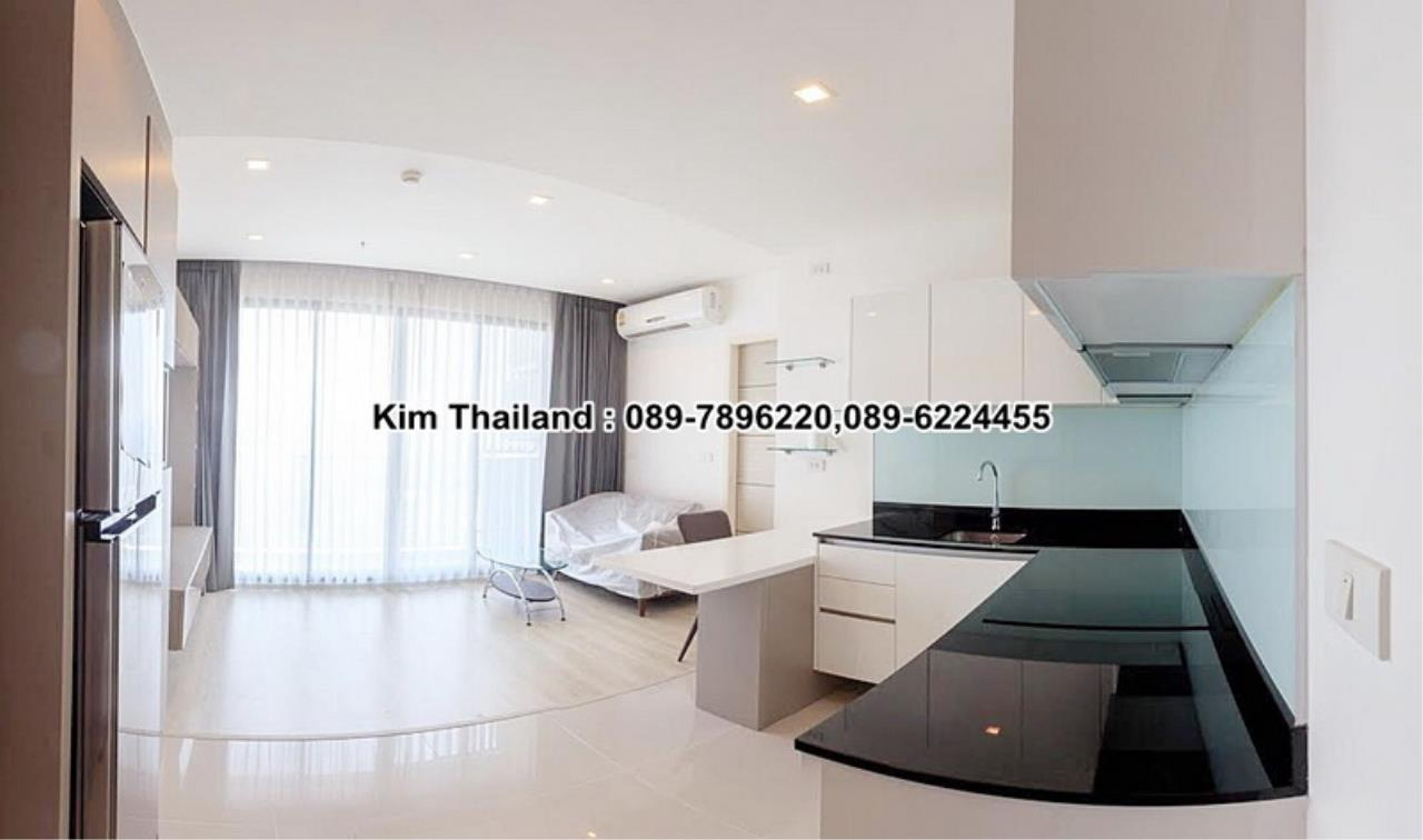 BKKcondorental Agency's For rent, Condo Quinn Ratchada 17., Area 45 sq.m. 1 bedroom. Rental 28000 THB per month. 1