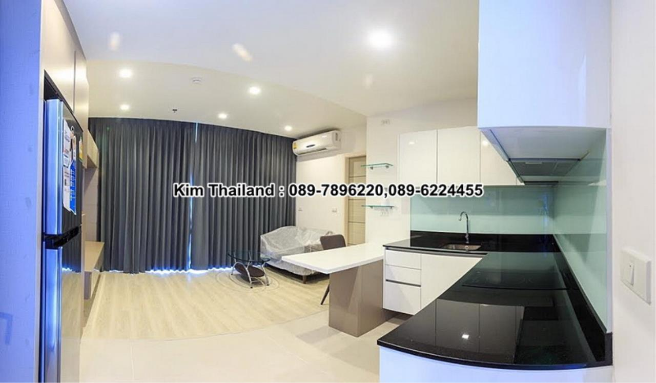 BKKcondorental Agency's For rent, Condo Quinn Ratchada 17., Area 45 sq.m. 1 bedroom. Rental 28000 THB per month. 2