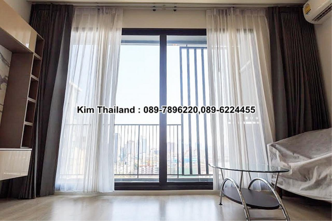 BKKcondorental Agency's For rent, Condo Quinn Ratchada 17., Area 45 sq.m. 1 bedroom. Rental 28000 THB per month. 3