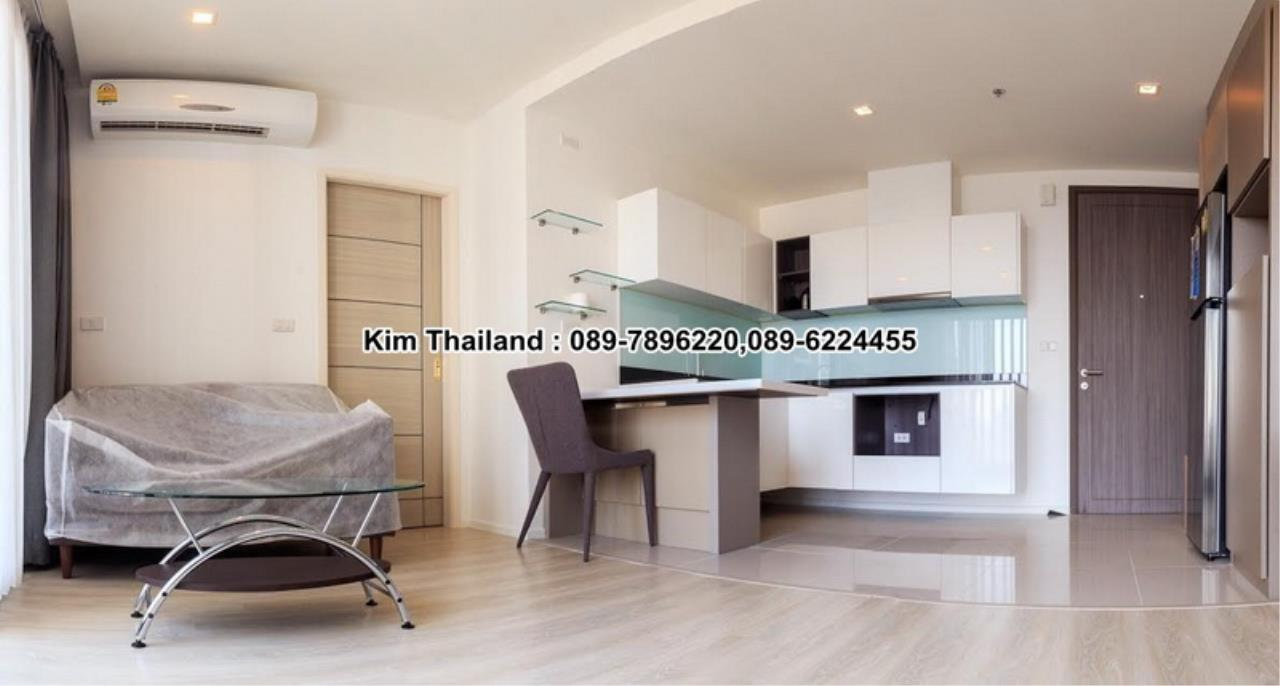 BKKcondorental Agency's For rent, Condo Quinn Ratchada 17., Area 45 sq.m. 1 bedroom. Rental 28000 THB per month. 4