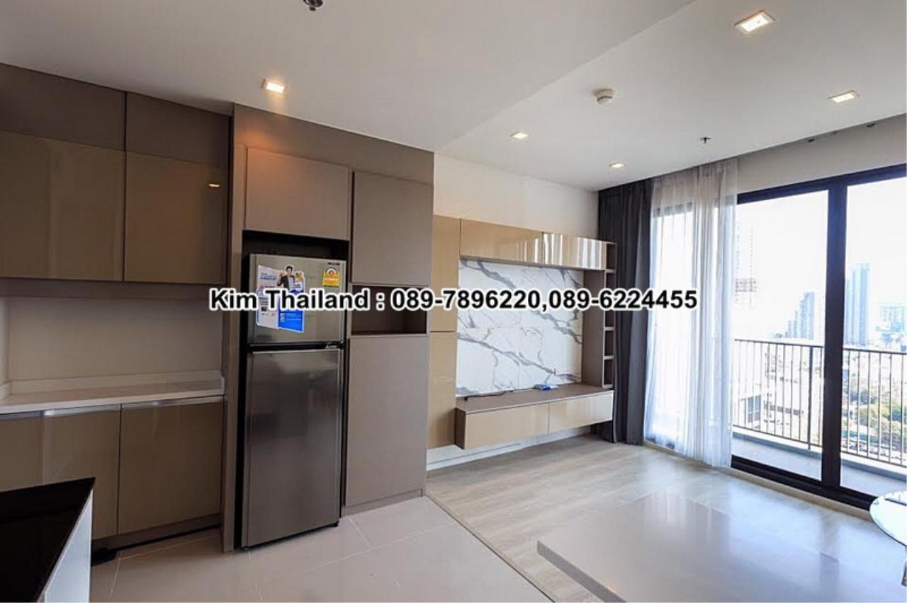 BKKcondorental Agency's For rent, Condo Quinn Ratchada 17., Area 45 sq.m. 1 bedroom. Rental 28000 THB per month. 5