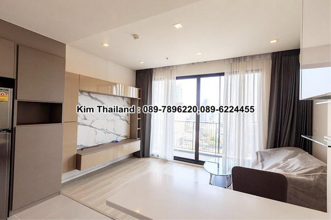 BKKcondorental Agency's For rent, Condo Quinn Ratchada 17., Area 45 sq.m. 1 bedroom. Rental 28000 THB per month. 6