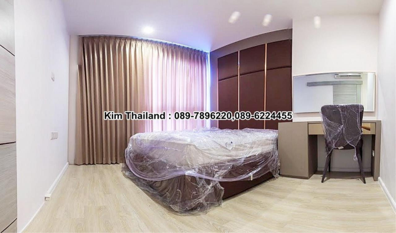 BKKcondorental Agency's For rent, Condo Quinn Ratchada 17., Area 45 sq.m. 1 bedroom. Rental 28000 THB per month. 8