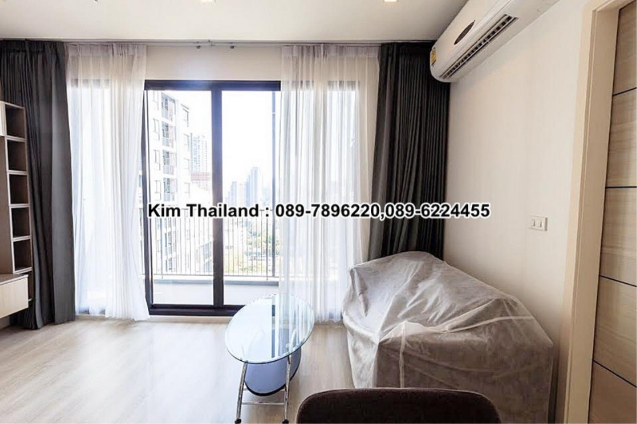 BKKcondorental Agency's For rent, Condo Quinn Ratchada 17., Area 45 sq.m. 1 bedroom. Rental 28000 THB per month. 9