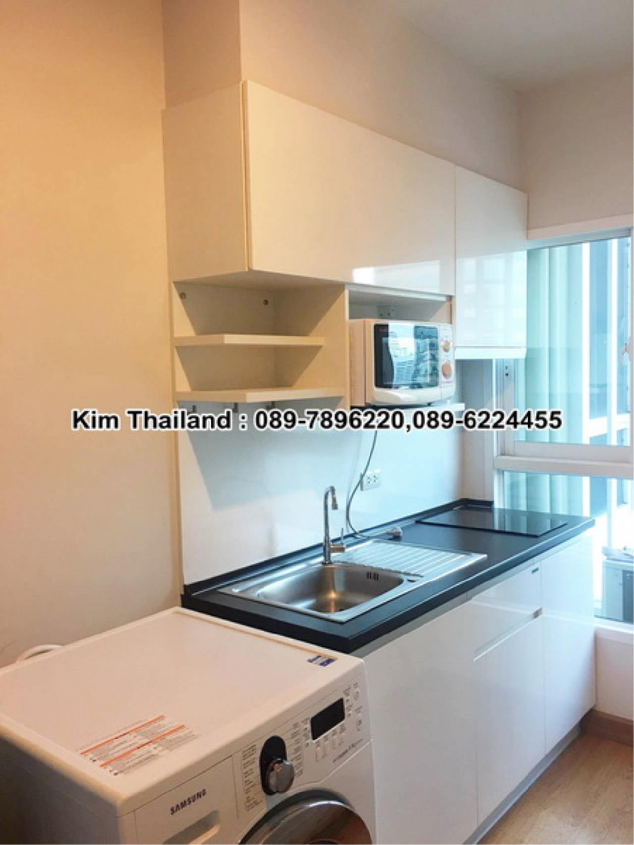 BKKcondorental Agency's For rent, Condo The Parkland Grand Asoke-Petchaburi., Area 35 sq.m. 1 bedroom. Rental 16,500 THB per month. 2