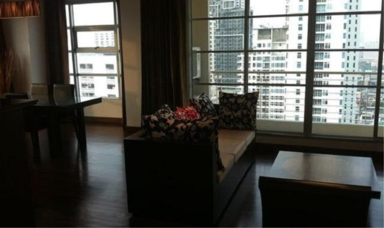 m2 Property Advisors Agency's Baan Klang Krung Siam-Pathumwan High floor city view 2