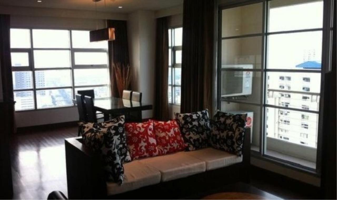 m2 Property Advisors Agency's Baan Klang Krung Siam-Pathumwan High floor city view 3