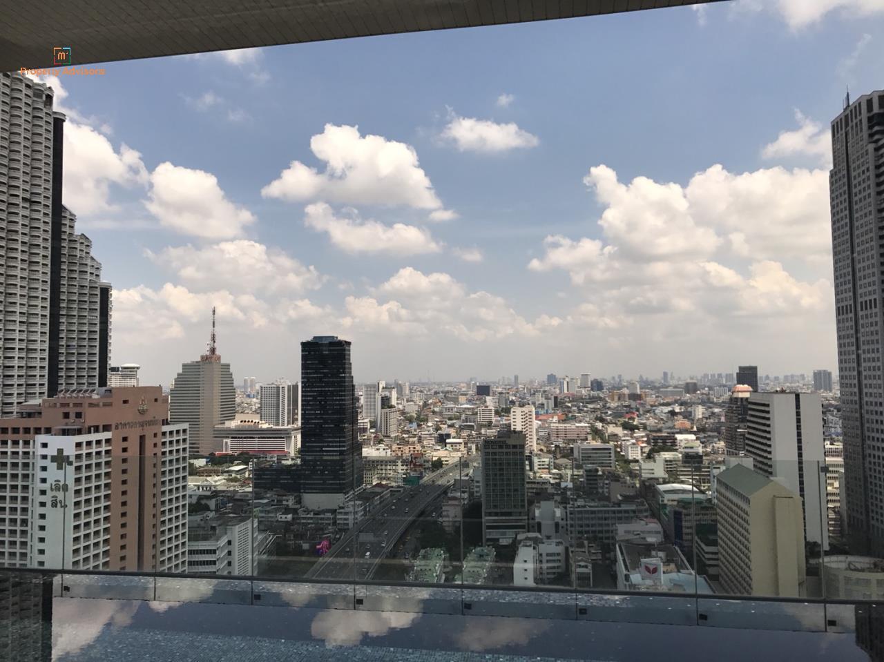 m2 Property Advisors Agency's Noble Revo Silom - New Super High floor room 3