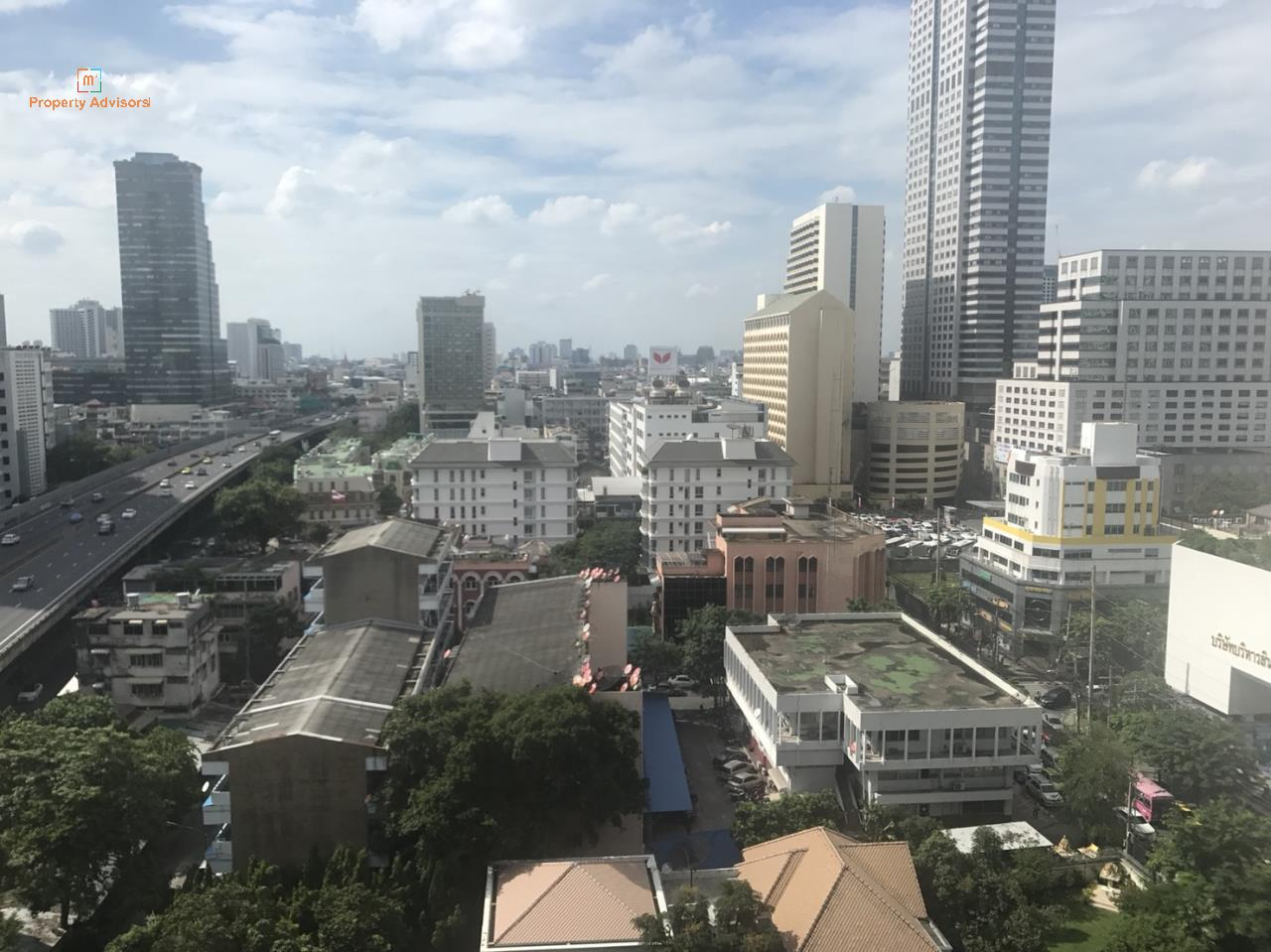 m2 Property Advisors Agency's Noble Revo Silom - New City view high floor room 7
