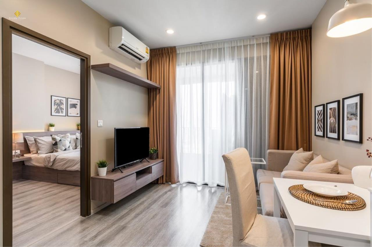 Agent - Lalisa Agency's Ideo Mobi Asoke 1 Bed 1 Bath 33 sqm. fl 26th for rent . Nice fullly furnished. 8