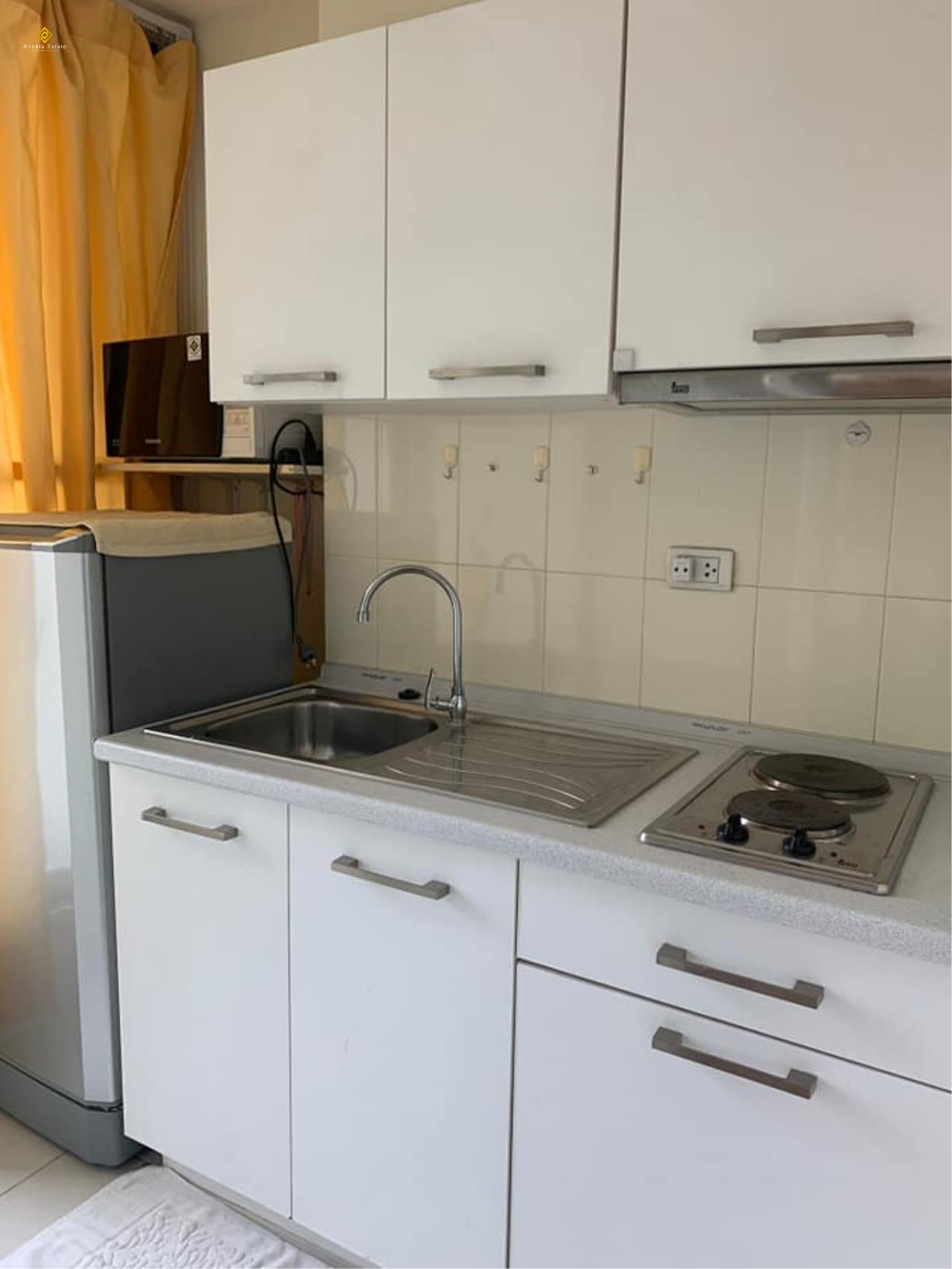 Agent - Lalisa Agency's For rent, Condo Life @ Ratchada. Sutthisan 30 sqm. Next to MRT Sutthisan. Fully furnished. 1bed 1 bath floor 6 2