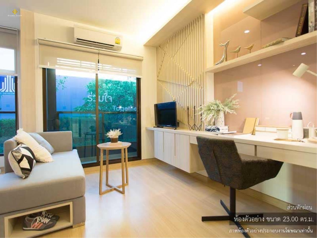 Agent - Lalisa Agency's Sale Lumpini suite PetchBuri-Makasan  studio room Furniture built in 2