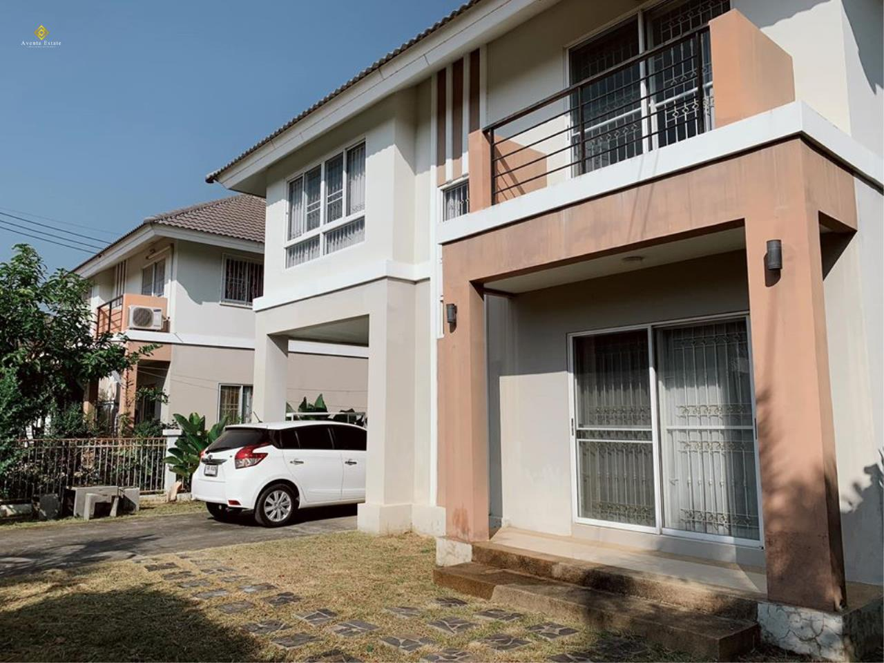 Agent - Lalisa Agency's Big house for sale Lots of living space, 3 bedrooms, 3 bathrooms, 2 parking 56 square meters, Chiang Mai 3