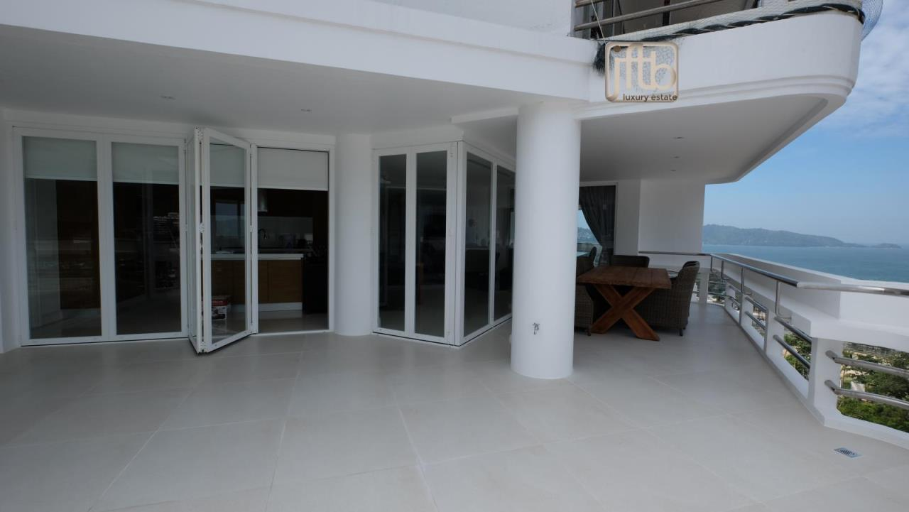 JFTB Phuket Agency's Phuket Modern luxury full Sea View apartment for sale in Patong Beach 22
