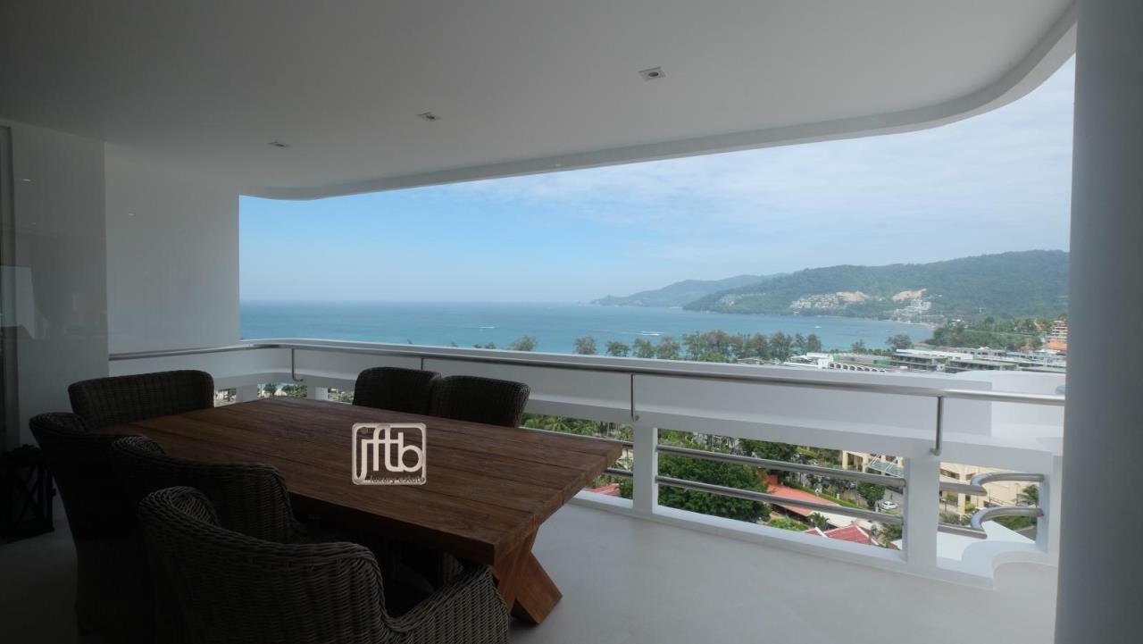 JFTB Phuket Agency's Phuket Modern luxury full Sea View apartment for sale in Patong Beach 21