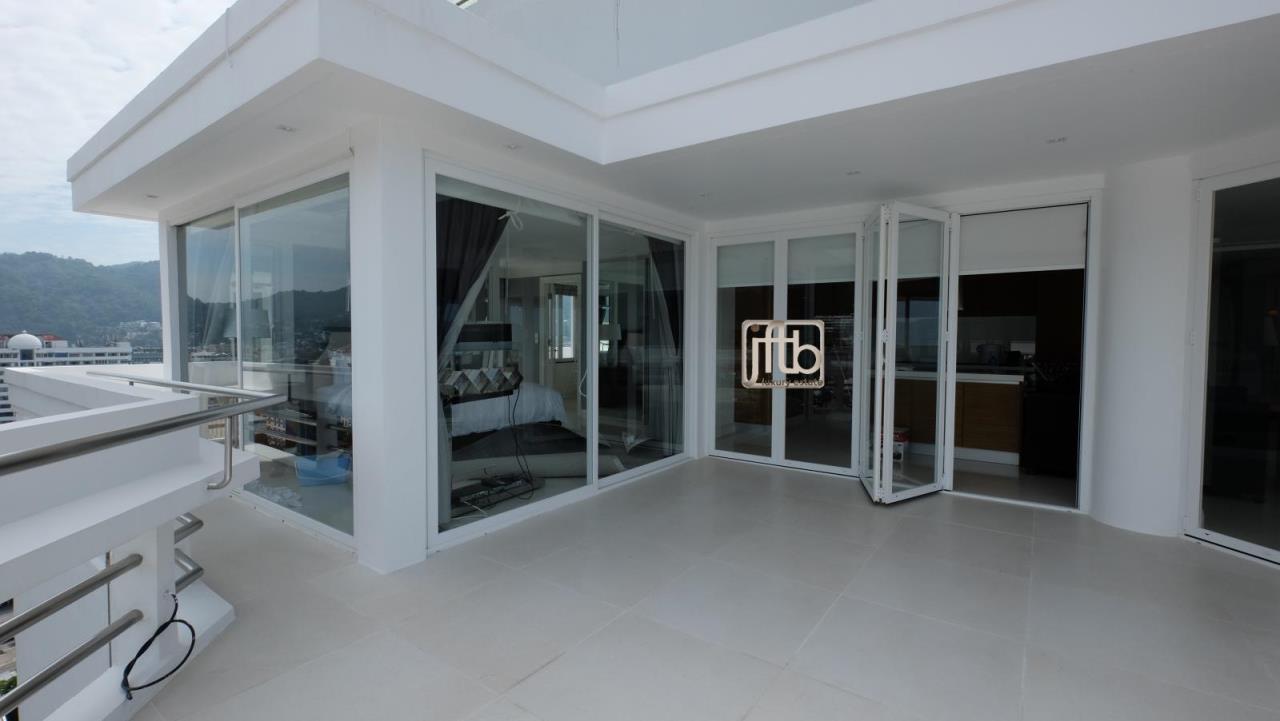 JFTB Phuket Agency's Phuket Modern luxury full Sea View apartment for sale in Patong Beach 15
