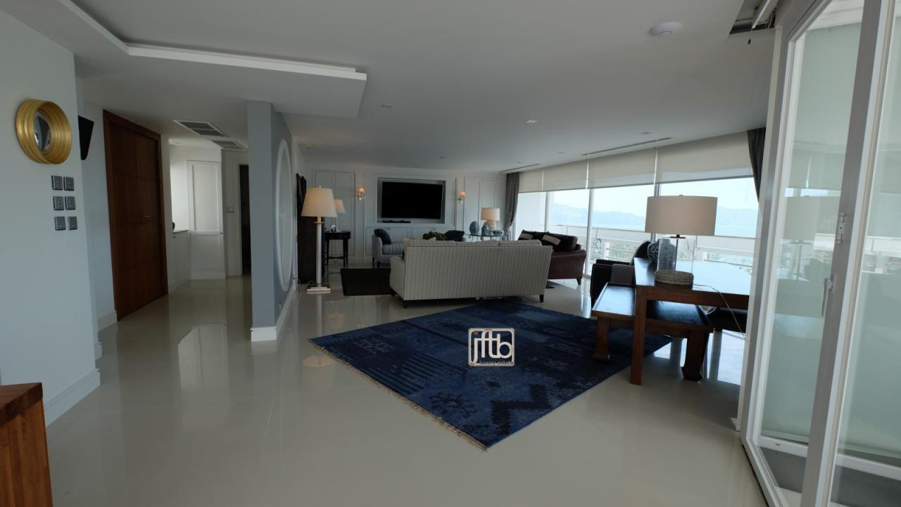 JFTB Phuket Agency's Phuket Modern luxury full Sea View apartment for sale in Patong Beach 5