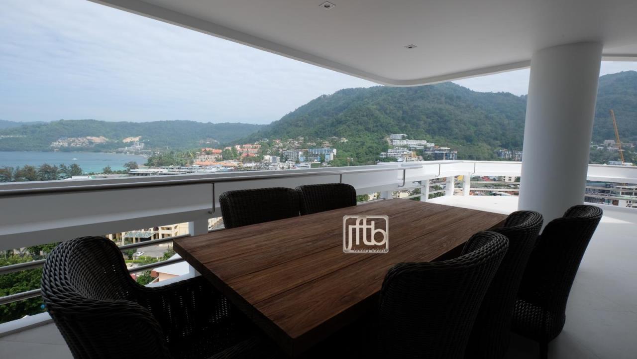 JFTB Phuket Agency's Phuket Modern luxury full Sea View apartment for sale in Patong Beach 4