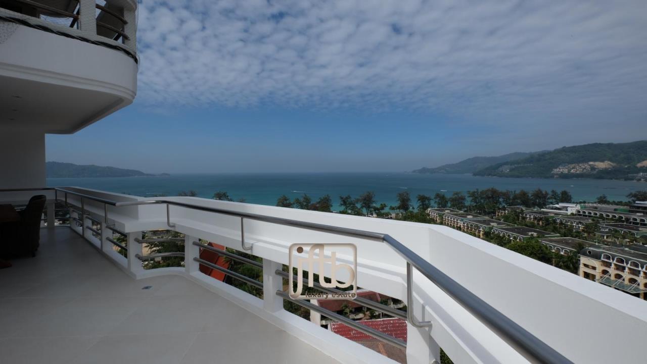 JFTB Phuket Agency's Phuket Modern luxury full Sea View apartment for sale in Patong Beach 3
