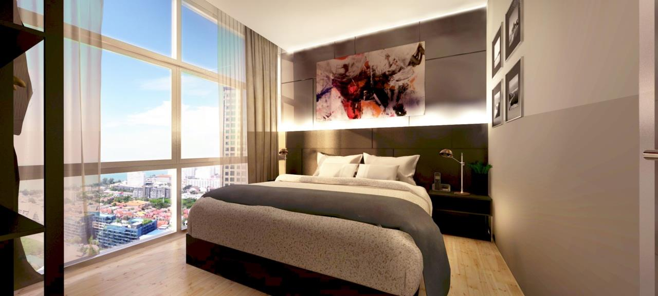 Signature Realty ( Thailand ) Co Ltd Agency's Fully Furnished Studio condo floor 2-10 at The Grand Jomtein Beach Pattaya 12