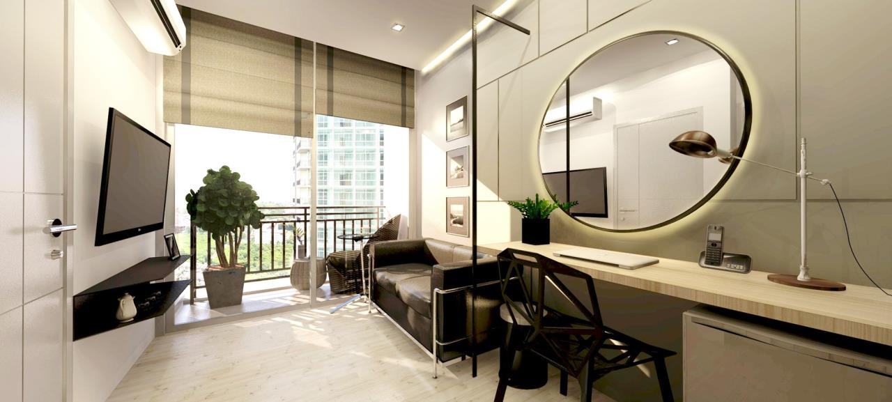 Signature Realty ( Thailand ) Co Ltd Agency's Fully Furnished Studio condo floor 2-10 at The Grand Jomtein Beach Pattaya 7
