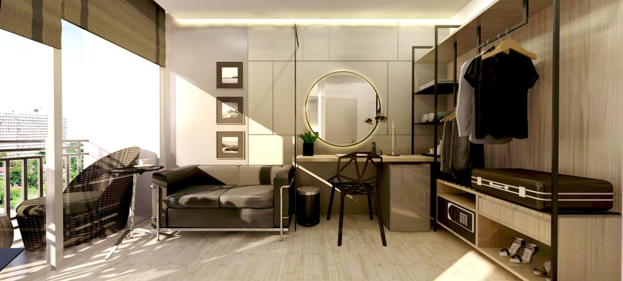 Signature Realty ( Thailand ) Co Ltd Agency's Fully Furnished Studio condo floor 2-10 at The Grand Jomtein Beach Pattaya 6