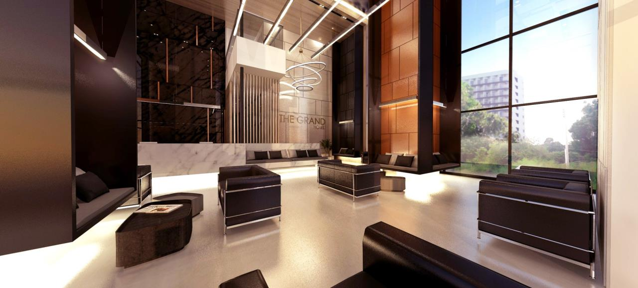 Signature Realty ( Thailand ) Co Ltd Agency's Fully Furnished Studio condo floor 2-10 at The Grand Jomtein Beach Pattaya 4