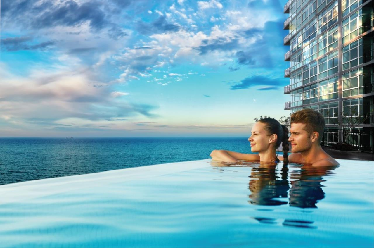 Signature Realty ( Thailand ) Co Ltd Agency's Fully Furnished Studio condo floor 2-10 at The Grand Jomtein Beach Pattaya 2