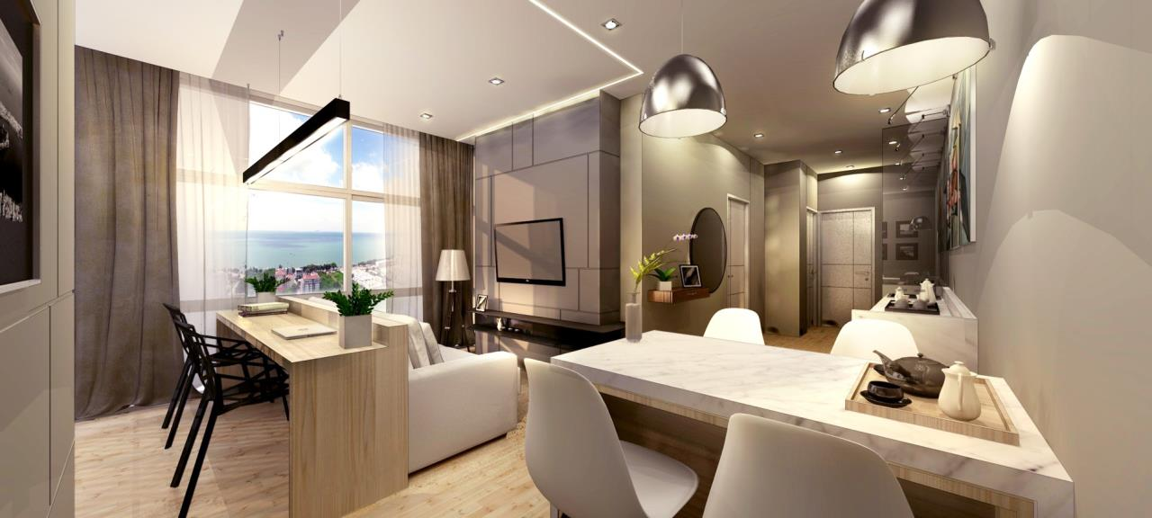 Signature Realty ( Thailand ) Co Ltd Agency's Furnished 2bedroom 40 sq.m condo floor 11-20 at The Grand Jomtein Beach Pattaya 13