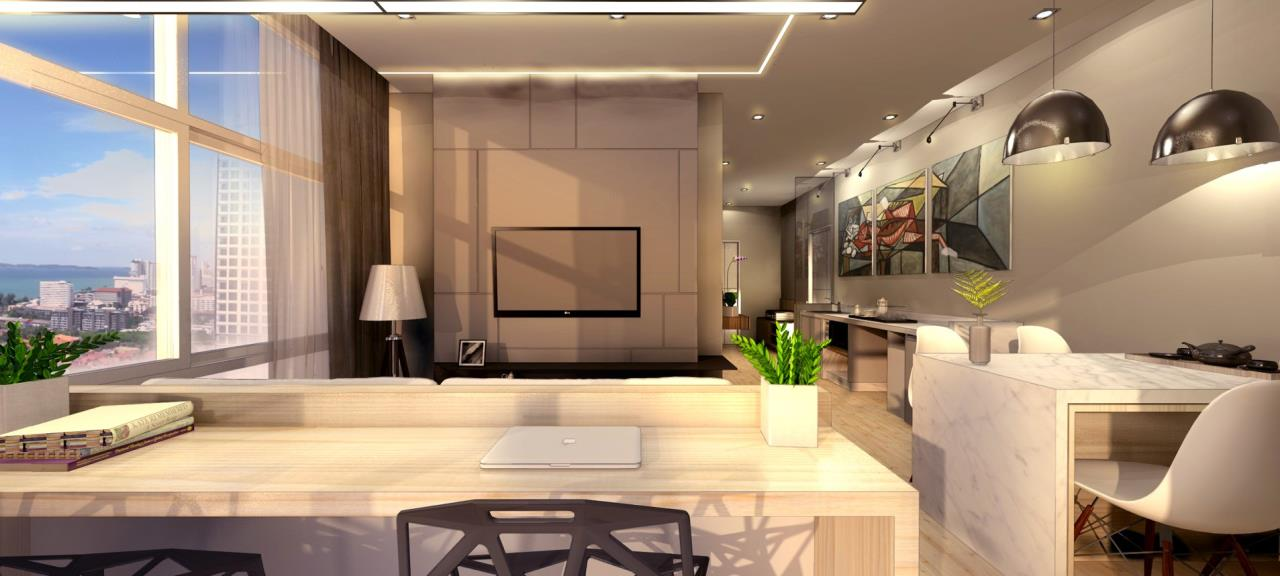 Signature Realty ( Thailand ) Co Ltd Agency's Furnished 1bedroom 46 sq.m condo with jacuzzi floor 21-31 at The Grand Jomtein Beach Pattaya 18