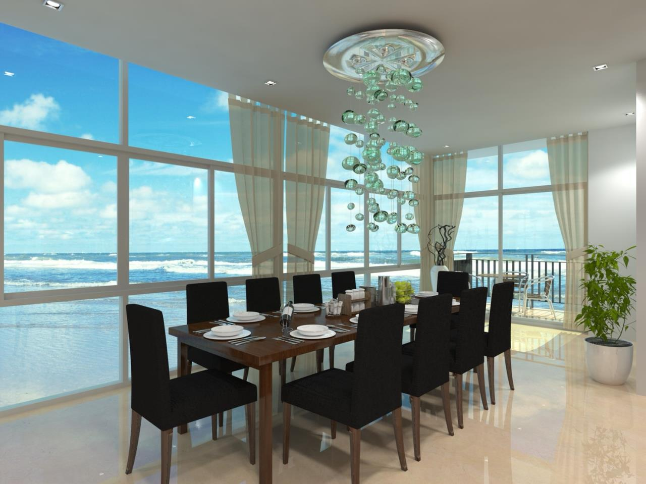 Signature Realty ( Thailand ) Co Ltd Agency's Furnished 2bedroom 58 sq.m condo with jacuzzi floor 2-10 at The Grand Jomtein Beach Pattaya 32
