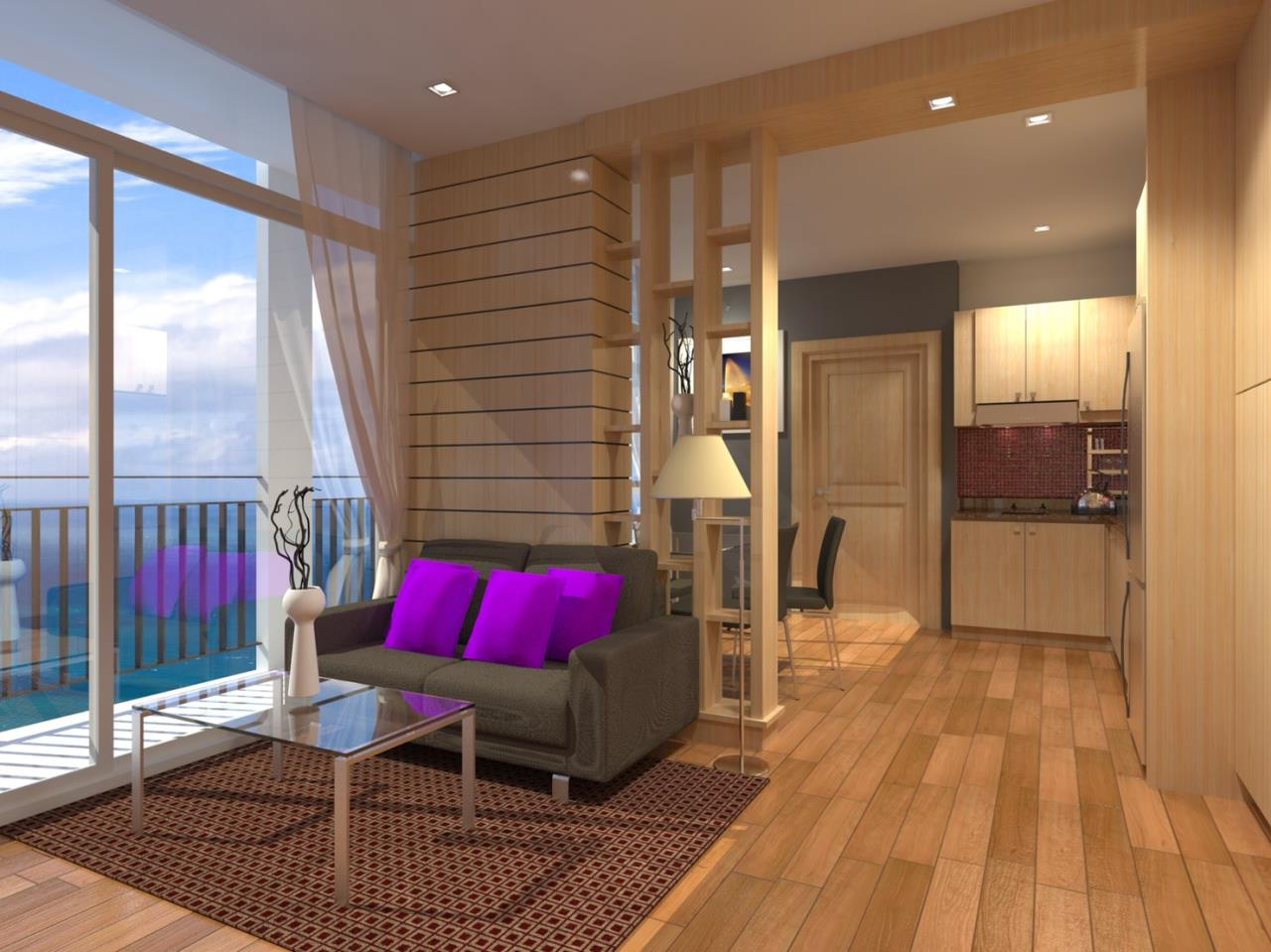 Signature Realty ( Thailand ) Co Ltd Agency's Furnished 2bedroom 58 sq.m condo with jacuzzi floor 2-10 at The Grand Jomtein Beach Pattaya 6
