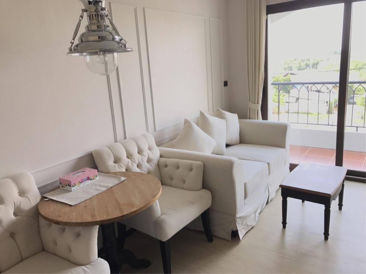 Signature Realty ( Thailand ) Co Ltd Agency's 1 Bedroom Condo 4th floor Building D for RENT - Venetian Condo Najomtien 10